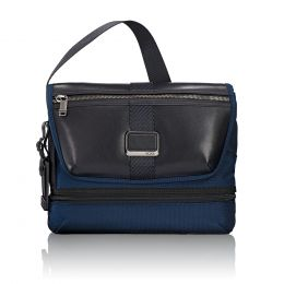 Alpha Bravo Travis Crossbody by TUMI (Color: Navy)