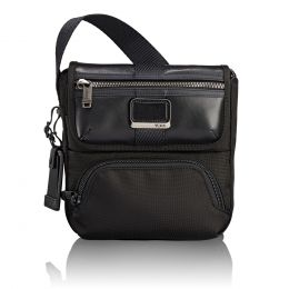 Alpha Bravo Barton Crossbody by TUMI (Color: Black)