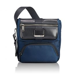 Alpha Bravo Barton Crossbody by TUMI (Color: Navy)