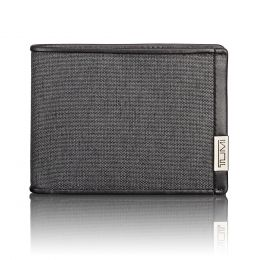 Alpha SLG Double Billfold by TUMI (Color: Anthracite/Black)