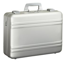 Medium Aluminum Camera Case by Zero Halliburton (Color: Silver)