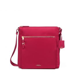 Voyageur Canton Crossbody by TUMI (Color: Raspberry)