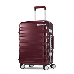 "Samsonite Framelock 20"" Spinner (Color: Cordovan)"
