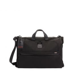 Alpha GARMENT BAG TRI-FOLD CARRY-ON by TUMI (Color: Black)