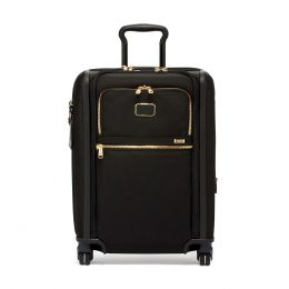 TUMI Alpha Continental Dual Access 4 Wheeled Carry-On by TUMI (Color: Black)