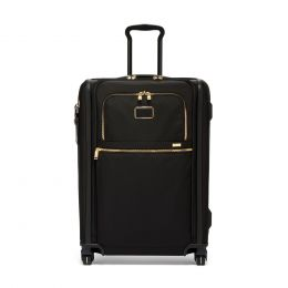 TUMI Alpha Short Trip Expandable 4 Wheeled Packing Case by TUMI (Color: Black)