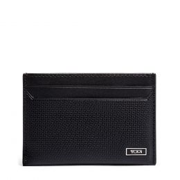 Monaco SLG Slim Card Case by TUMI (Color: Black)