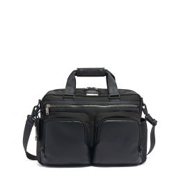 Alpha Bravo Hunter Satchel by TUMI (Color: Black)