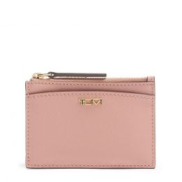 Belden SLG Zip Card Case by TUMI (Color: Pink)