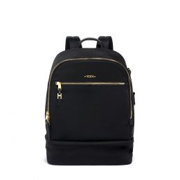 Voyageur Brooklyn Double Compartment Backpack by TUMI (Color: Black)