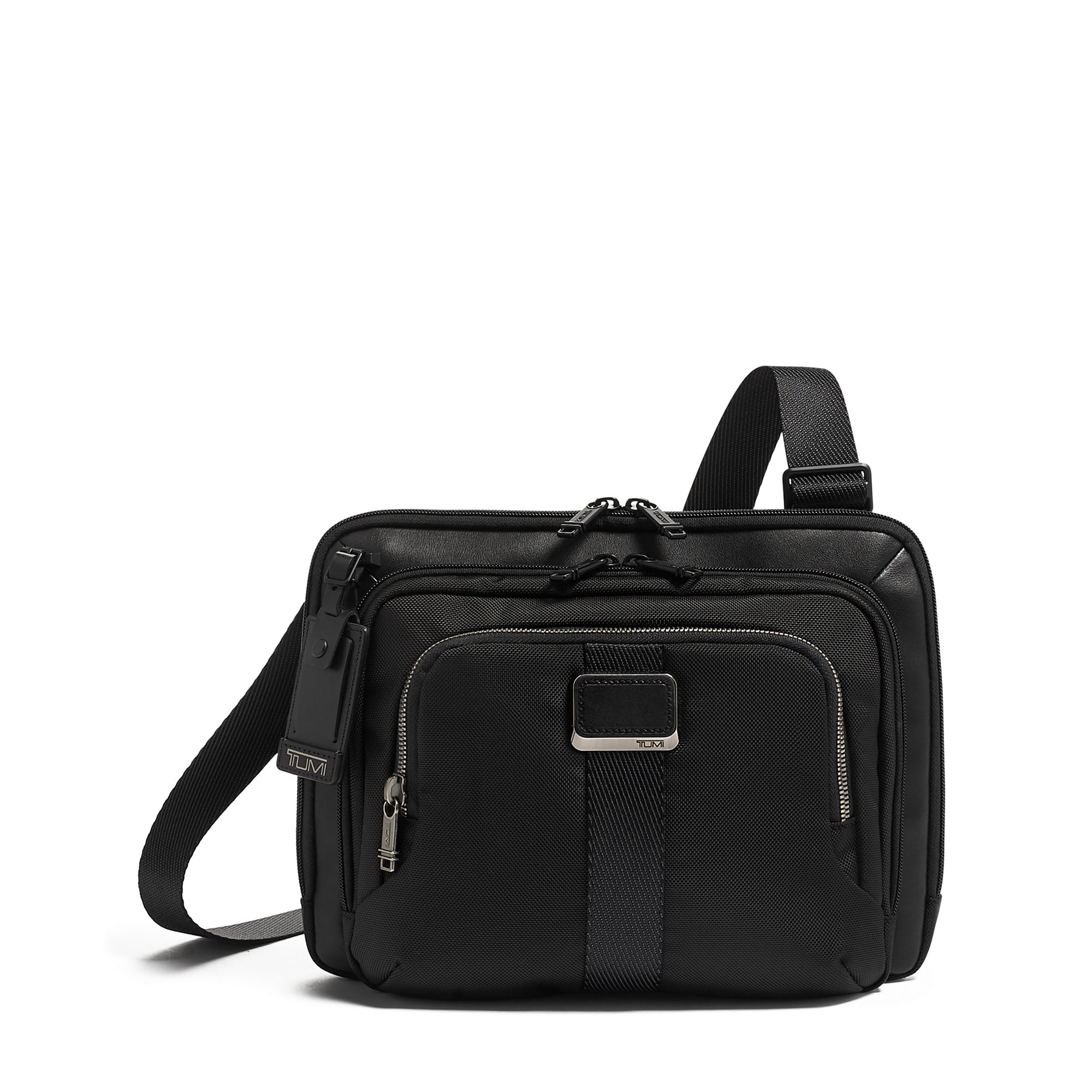 Alpha Bravo Jackson Crossbody by TUMI (Color: Black)