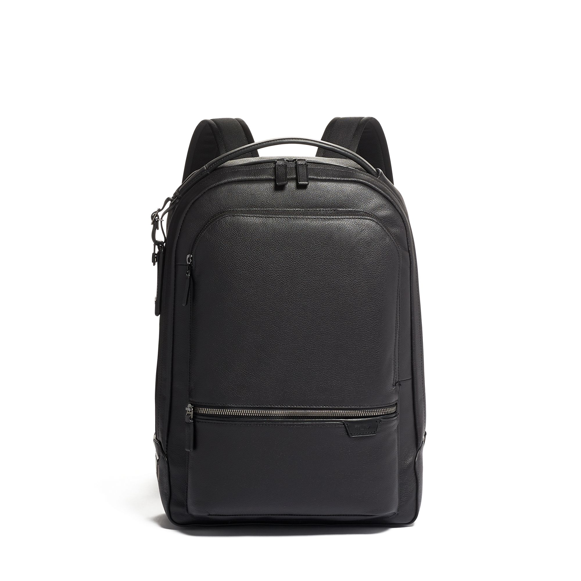 TUMI Harrison Bradner Backpack Leather by TUMI (Color: Black)