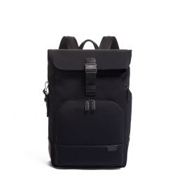 TUMI Harrison Osborn Roll Top Backpack by TUMI (Color: Black)