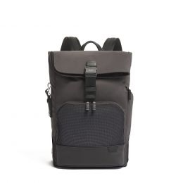 TUMI Harrison Osborn Roll Top Backpack by TUMI (Color: Grey)