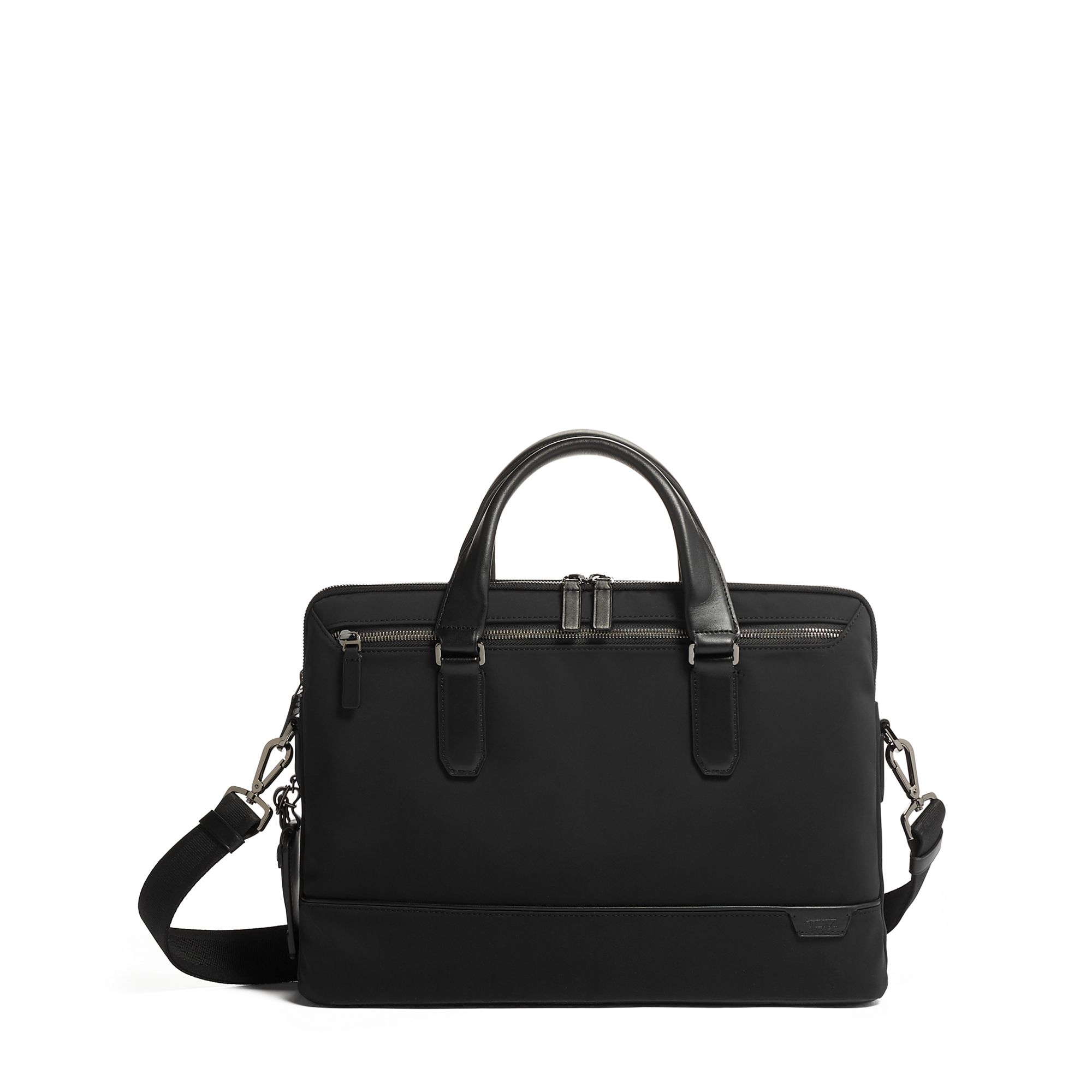 TUMI Harrison Sycamore Slim Brief by TUMI (Color: Black)
