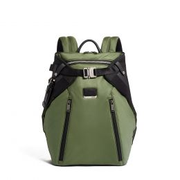 Alpha Bravo Grant Backpack by TUMI (Color: Green)