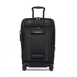 TUMI Merge INTERNATIONAL FRONT LID 4 WHEELED CARRY-ON by TUMI (Color: Black)