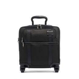 TUMI Merge SMALL COMPACT 4 WHEELED BRIEF by TUMI (Color: Black)