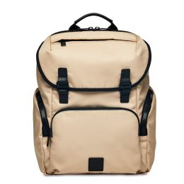 Thurloe Backpack 15'' by Knomo (Color: Trench Beige / Black Hardware)
