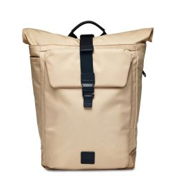 Novello Backpack 15'' by Knomo (Color: Trench Beige / Black Hardware)