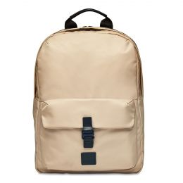 Christowe Backpack 15'' by Knomo (Color: Trench Beige / Black Hardware)