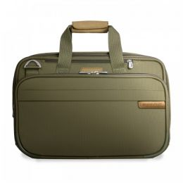 Baseline Expandable Cabin Bag by Briggs & Riley (Color: Olive)