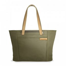 Baseline Large Shopping Tote by Briggs & Riley (Color: Olive)