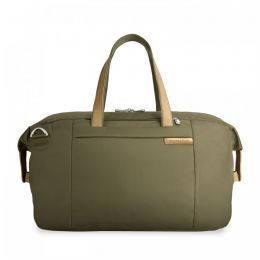 Baseline Large Weekender by Briggs & Riley (Color: Olive)