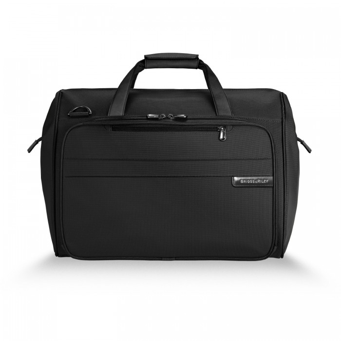 Baseline Framed Weekender by Briggs & Riley (Color: Black)
