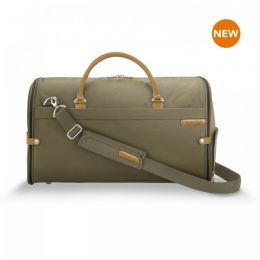 Baseline Suiter Duffle by Briggs & Riley (Color: Olive)