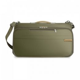 Baseline Compact Garment Bag by Briggs & Riley (Color: Olive)