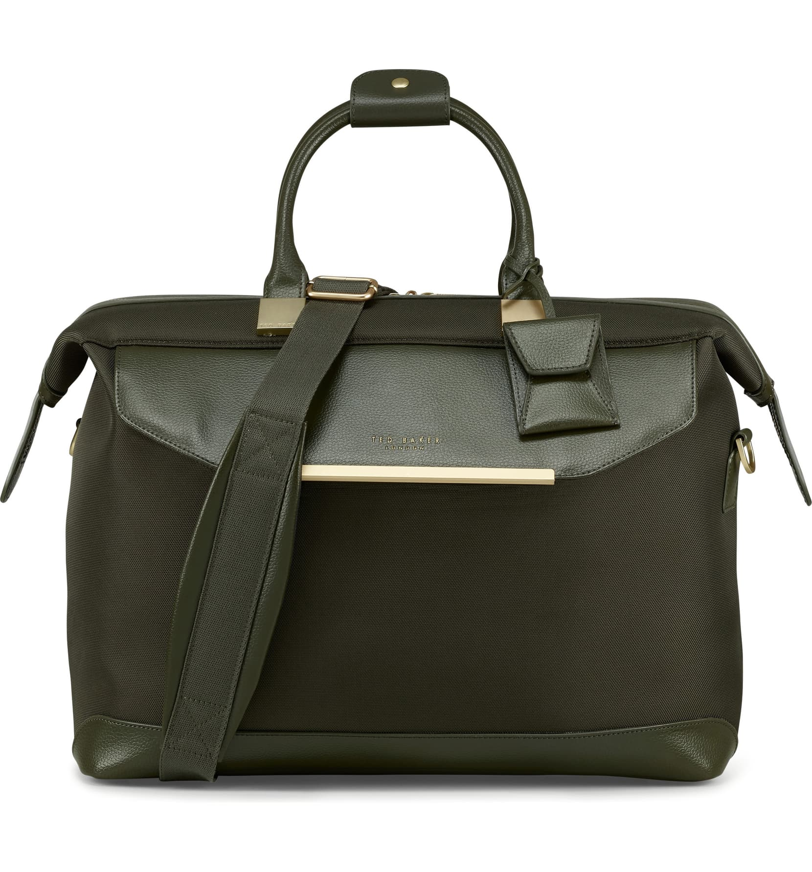 TB Womens Albany Softside Holdall by Ted Baker (Color: Olive)
