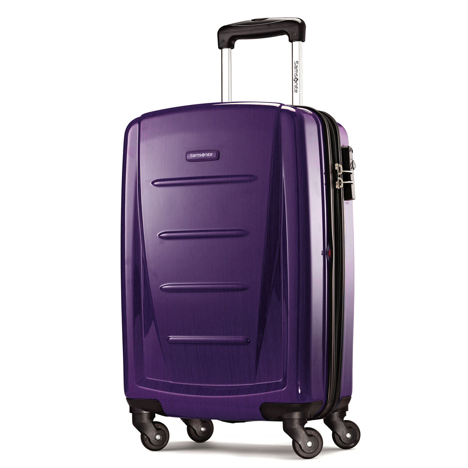 "Samsonite Winfield 2 Fashion 20"" Spinner (Color: Purple)"