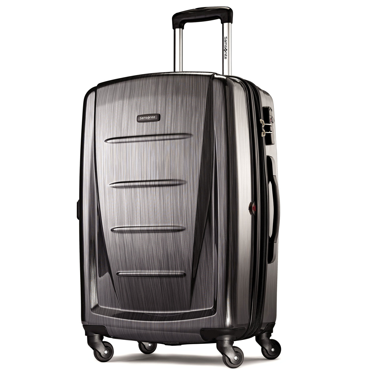 "Samsonite Winfield 2 Fashion 24"" Spinner (Color: Charcoal)"