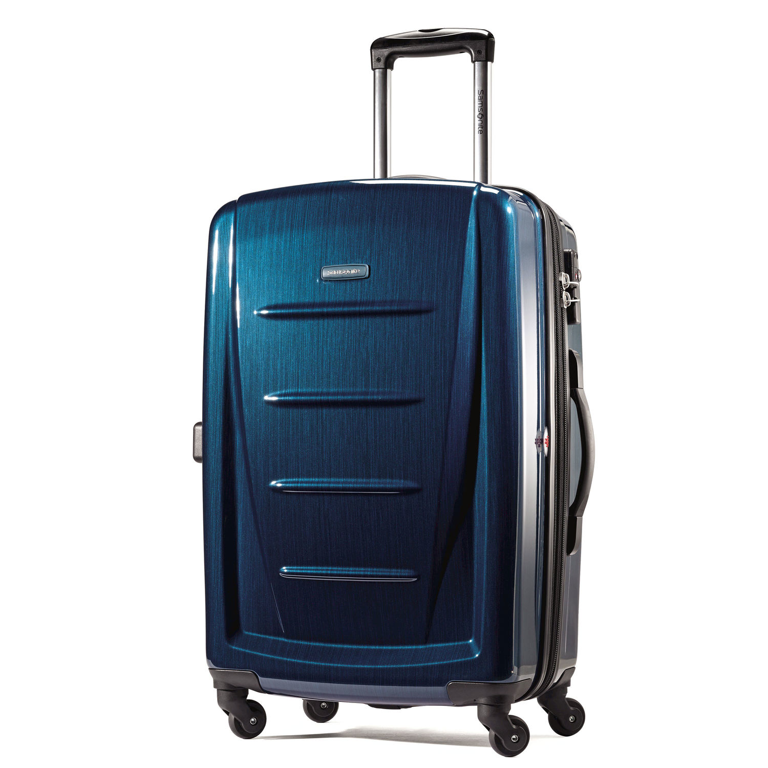 "Samsonite Winfield 2 Fashion 24"" Spinner (Color: Deep Blue)"