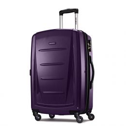 "Samsonite Winfield 2 Fashion 24"" Spinner (Color: Purple)"