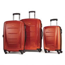 Samsonite Winfield 2 Fashion 3 Piece Spinner Set (Color: Orange)