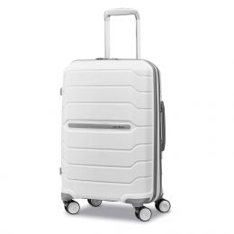 "Samsonite Freeform 21"" Spinner (Color: White)"
