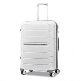 "Samsonite Freeform 24"" Spinner (Color: White)"