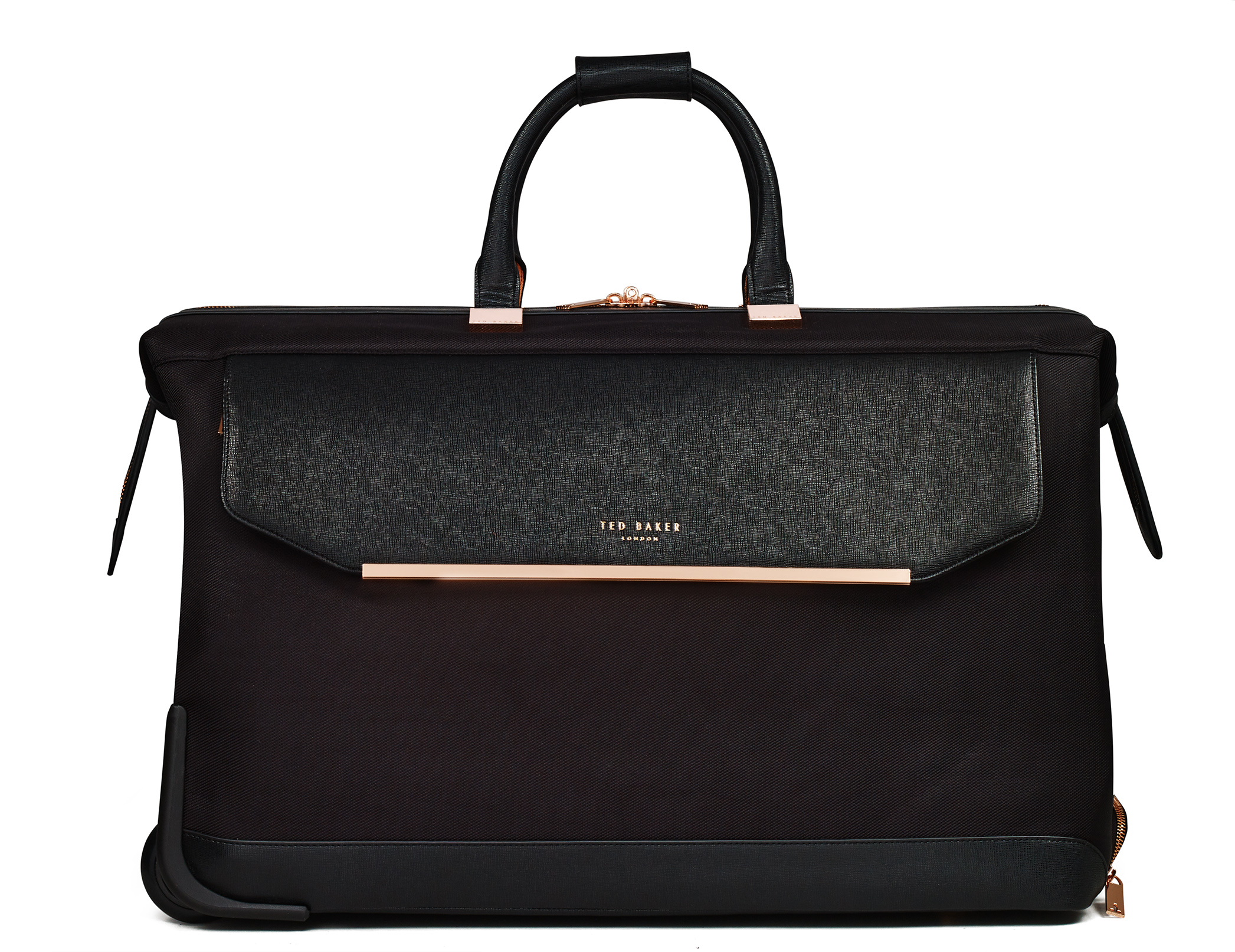 TB Womens Albany Softside Trolley by Ted Baker (Color: Black)