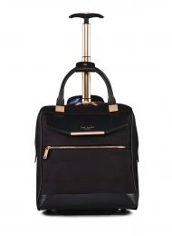 TB Womens Albany Softside Wheeled Business Case by Ted Baker (Color: Black)