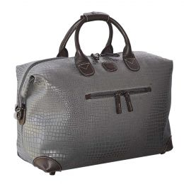 "MySAFARI 18"" Cargo Duffle by Brics (Color: Smoke)"