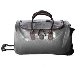 "MySAFARI 21"" Rolling Duffle by Brics (Color: Smoke)"