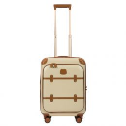 "Bellagio 21"" Spinner Trunk W / Pocket by Brics (Color: Cream)"