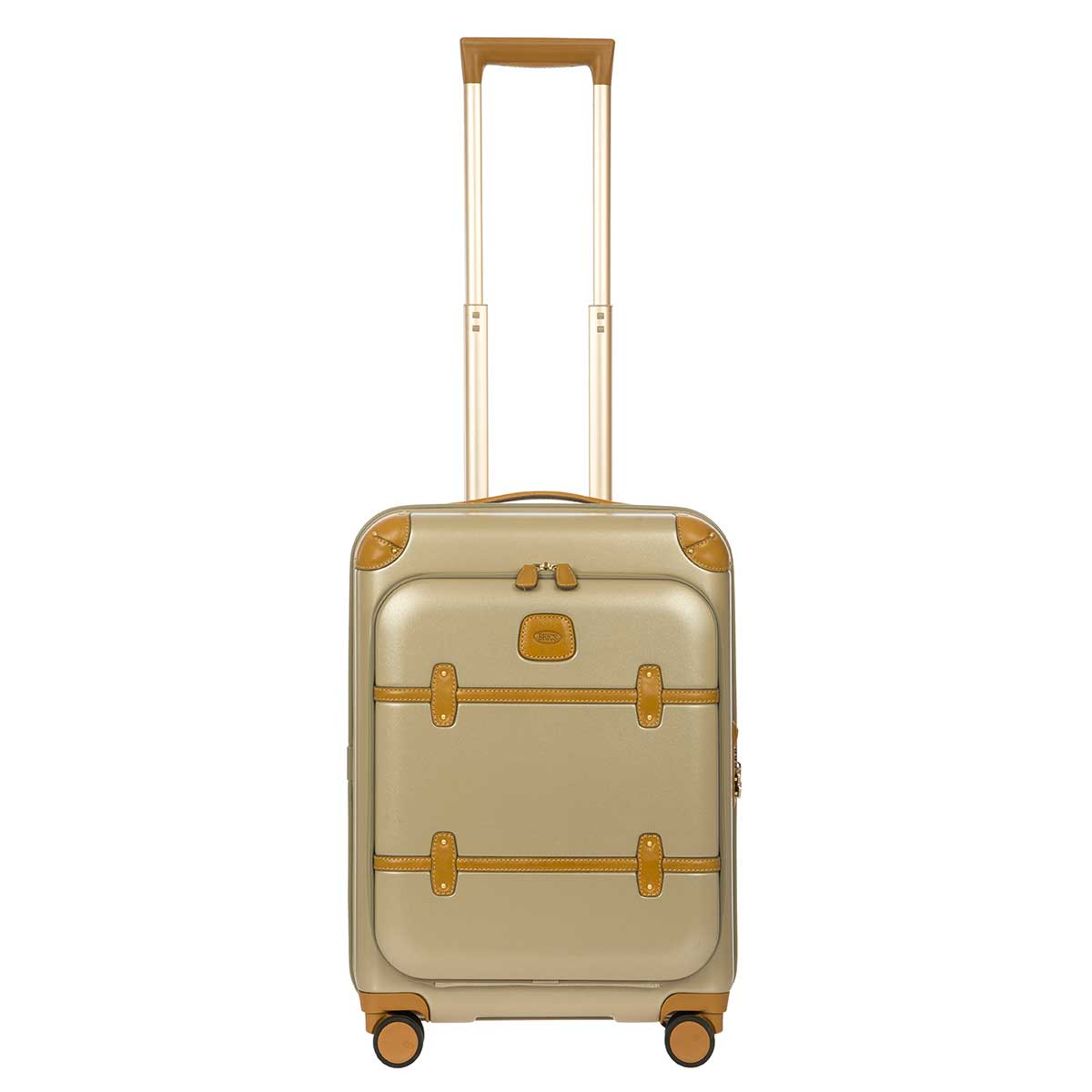 "Bellagio 21"" Spinner Trunk W / Pocket by Brics (Color: Gold)"