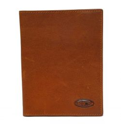 Monte Rosa Passport + Credit Card Holder by Brics (Color: Tobacco)