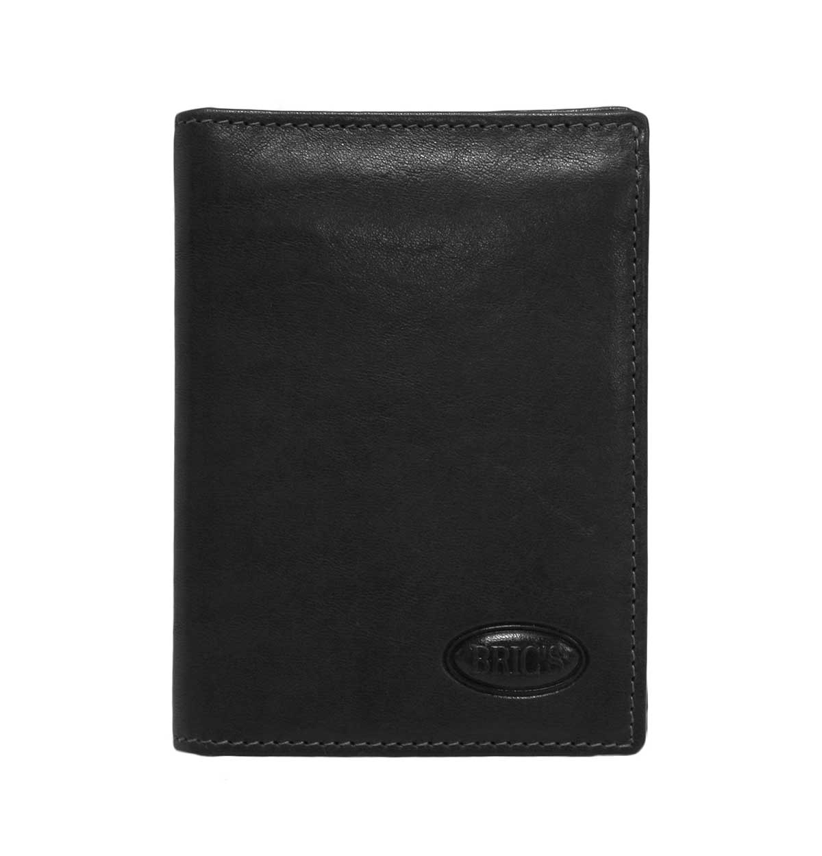Monte Rosa Flip-Up Vertical Wallet With Id by Brics (Color: Black)