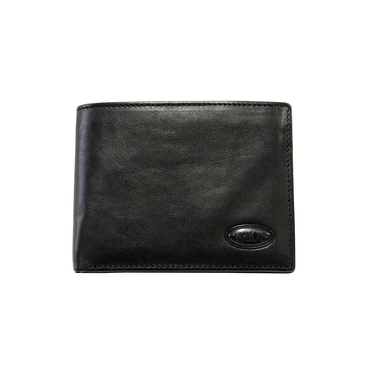 Monte Rosa Horizontal Wallet With Id by Brics (Color: Black)
