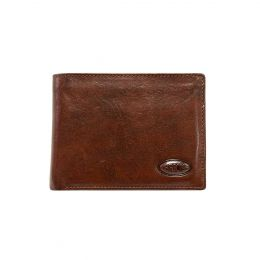 Monte Rosa Horizontal Wallet With Id by Brics (Color: Dark Brown)