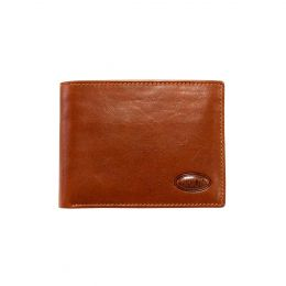 Monte Rosa Horizontal Wallet With Id by Brics (Color: Tobacco)